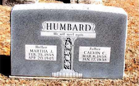 HUMBARD, CALVIN  C. - Carroll County, Arkansas | CALVIN  C. HUMBARD - Arkansas Gravestone Photos
