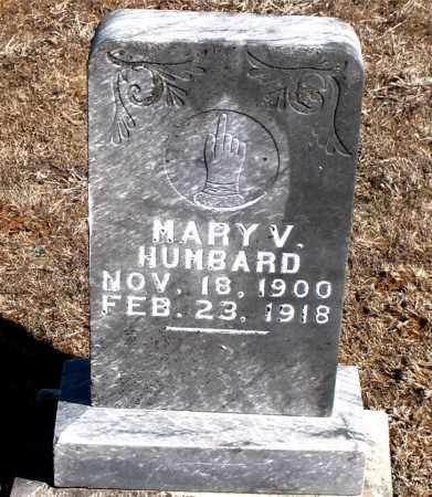 HUMBARD, MARY  V. - Carroll County, Arkansas | MARY  V. HUMBARD - Arkansas Gravestone Photos