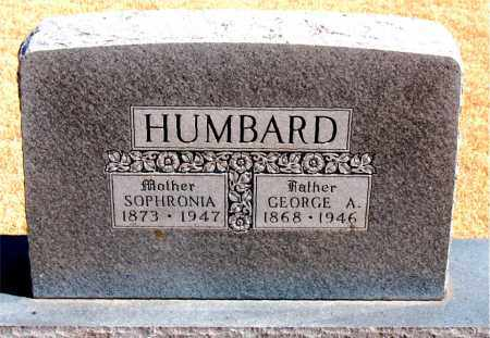 HUMBARD, GEORGE A. - Carroll County, Arkansas | GEORGE A. HUMBARD - Arkansas Gravestone Photos