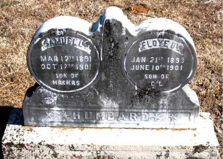 HUMBARD, FLOYED - Carroll County, Arkansas | FLOYED HUMBARD - Arkansas Gravestone Photos