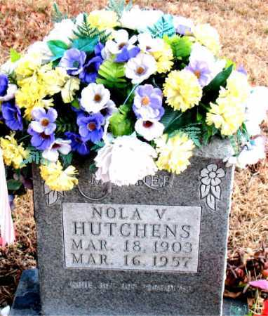 HUTCHENS, NOLA V. - Carroll County, Arkansas | NOLA V. HUTCHENS - Arkansas Gravestone Photos