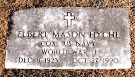HYCHE  (VETERAN WWII), ELBERT MASON - Carroll County, Arkansas | ELBERT MASON HYCHE  (VETERAN WWII) - Arkansas Gravestone Photos