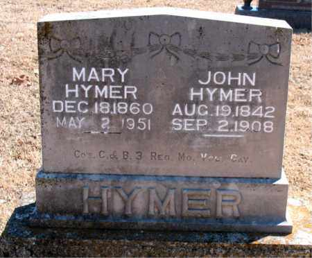 HYMER, MARY - Carroll County, Arkansas | MARY HYMER - Arkansas Gravestone Photos