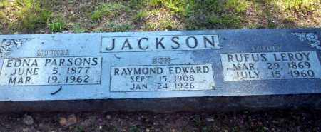 JACKSON, RAYMOND EDWARD - Carroll County, Arkansas | RAYMOND EDWARD JACKSON - Arkansas Gravestone Photos