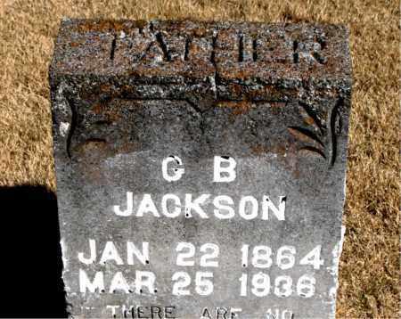 JACKSON, G  B - Carroll County, Arkansas | G  B JACKSON - Arkansas Gravestone Photos