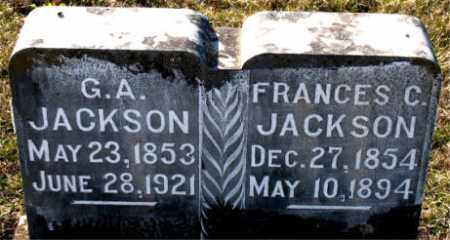 JACKSON, FRANCES  C. - Carroll County, Arkansas | FRANCES  C. JACKSON - Arkansas Gravestone Photos