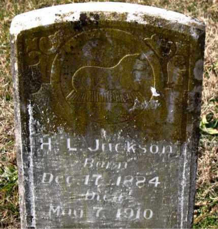 JACKSON, H.  L. - Carroll County, Arkansas | H.  L. JACKSON - Arkansas Gravestone Photos