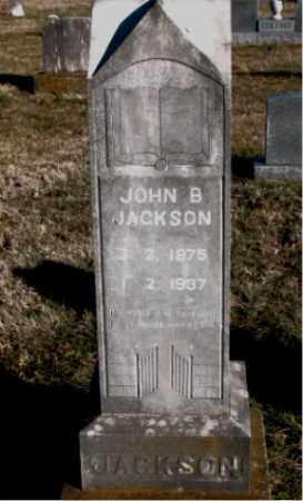 JACKSON, JOHN  B. - Carroll County, Arkansas | JOHN  B. JACKSON - Arkansas Gravestone Photos