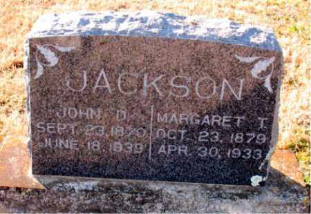 JACKSON, MARGARET  T. - Carroll County, Arkansas | MARGARET  T. JACKSON - Arkansas Gravestone Photos
