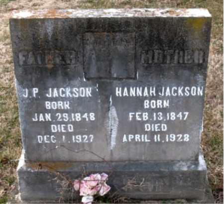 JACKSON, HANNAH - Carroll County, Arkansas | HANNAH JACKSON - Arkansas Gravestone Photos