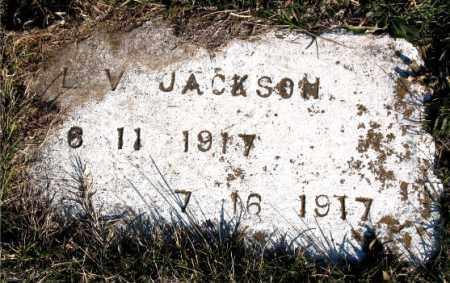 JACKSON, L.  V. - Carroll County, Arkansas | L.  V. JACKSON - Arkansas Gravestone Photos