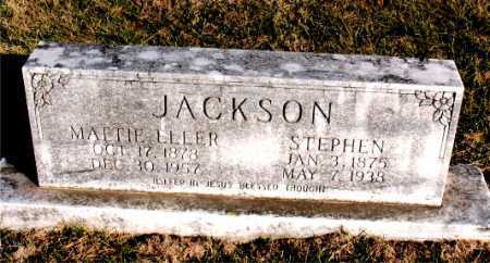 JACKSON, STEPHEN - Carroll County, Arkansas | STEPHEN JACKSON - Arkansas Gravestone Photos