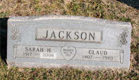 JACKSON, CLAUD - Carroll County, Arkansas | CLAUD JACKSON - Arkansas Gravestone Photos