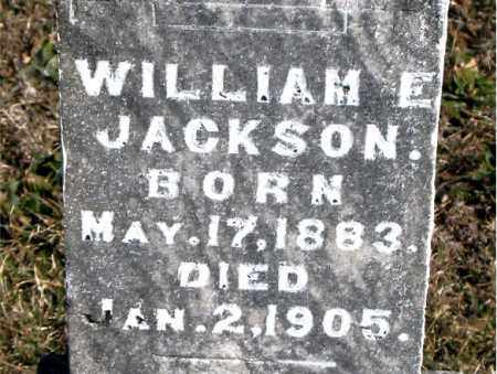 JACKSON, WILLIAM  E. - Carroll County, Arkansas | WILLIAM  E. JACKSON - Arkansas Gravestone Photos