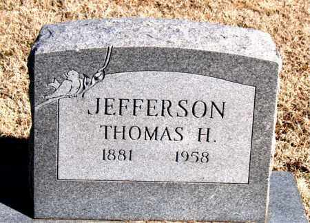 JEFFERSON, THOMAS H - Carroll County, Arkansas | THOMAS H JEFFERSON - Arkansas Gravestone Photos