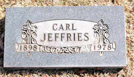 JEFFRIES, CARL - Carroll County, Arkansas | CARL JEFFRIES - Arkansas Gravestone Photos