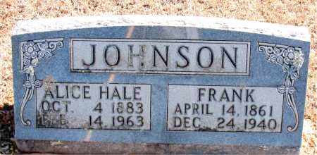 HALE JOHNSON, ALICE - Carroll County, Arkansas | ALICE HALE JOHNSON - Arkansas Gravestone Photos