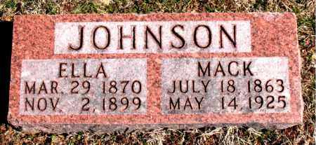 JOHNSON, ELLA - Carroll County, Arkansas | ELLA JOHNSON - Arkansas Gravestone Photos