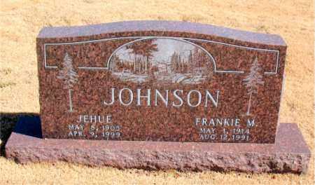 JOHNSON, FRANKIE  M. - Carroll County, Arkansas | FRANKIE  M. JOHNSON - Arkansas Gravestone Photos