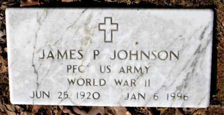 JOHNSON (VETERAN WWII), JAMES P - Carroll County, Arkansas | JAMES P JOHNSON (VETERAN WWII) - Arkansas Gravestone Photos