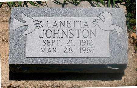 JOHNSON, LANETTA - Carroll County, Arkansas | LANETTA JOHNSON - Arkansas Gravestone Photos