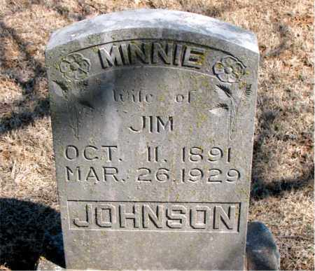JOHNSON, MINNIE - Carroll County, Arkansas | MINNIE JOHNSON - Arkansas Gravestone Photos
