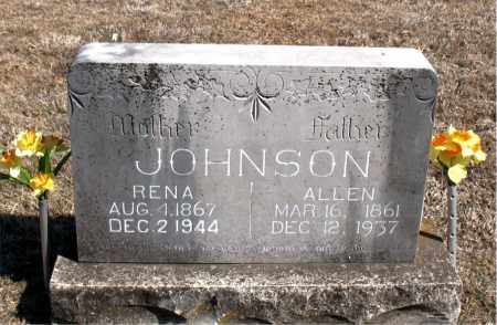 JOHNSON, ALLEN - Carroll County, Arkansas | ALLEN JOHNSON - Arkansas Gravestone Photos