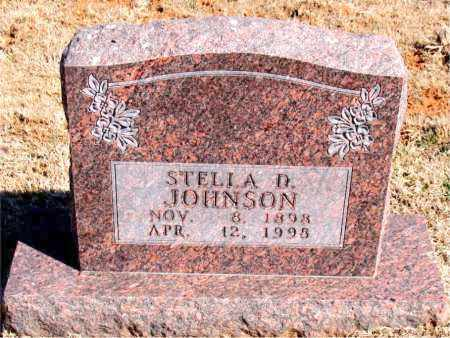 JOHNSON, STELLA D. - Carroll County, Arkansas | STELLA D. JOHNSON - Arkansas Gravestone Photos
