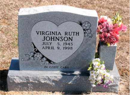 JOHNSON, VIRGINIA RUTH - Carroll County, Arkansas | VIRGINIA RUTH JOHNSON - Arkansas Gravestone Photos