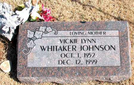 WHITKER JOHNSON, VICKIE LYNN - Carroll County, Arkansas | VICKIE LYNN WHITKER JOHNSON - Arkansas Gravestone Photos
