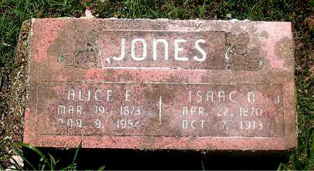 JONES, ALICE - Carroll County, Arkansas | ALICE JONES - Arkansas Gravestone Photos