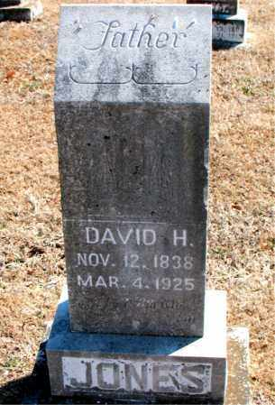 JONES, DAVID H. - Carroll County, Arkansas | DAVID H. JONES - Arkansas Gravestone Photos