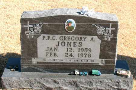 JONES (VETERAN), GREGORY A - Carroll County, Arkansas | GREGORY A JONES (VETERAN) - Arkansas Gravestone Photos
