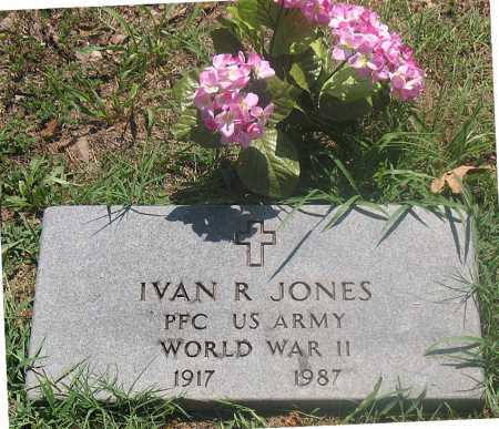 JONES (VETERAN WWII), IVAN R - Carroll County, Arkansas | IVAN R JONES (VETERAN WWII) - Arkansas Gravestone Photos