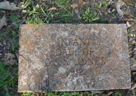 JONES, INFANT DAUGHTER - Carroll County, Arkansas | INFANT DAUGHTER JONES - Arkansas Gravestone Photos