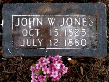 JONES, JOHN W. - Carroll County, Arkansas | JOHN W. JONES - Arkansas Gravestone Photos