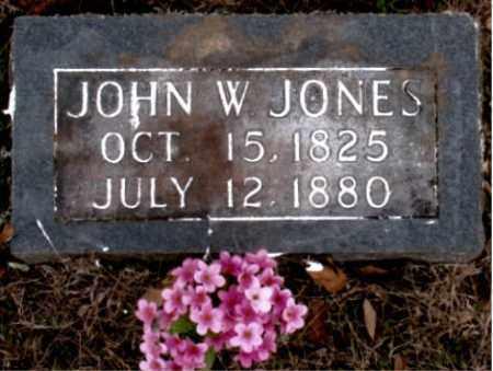 JONES, JOHN W. - Carroll County, Arkansas | JOHN W. JONES - Arkansas Gravestone Photos