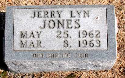 JONES, JERRY LYN - Carroll County, Arkansas | JERRY LYN JONES - Arkansas Gravestone Photos