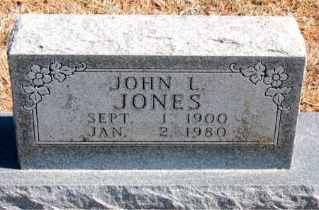 JONES, JOHN L. - Carroll County, Arkansas | JOHN L. JONES - Arkansas Gravestone Photos