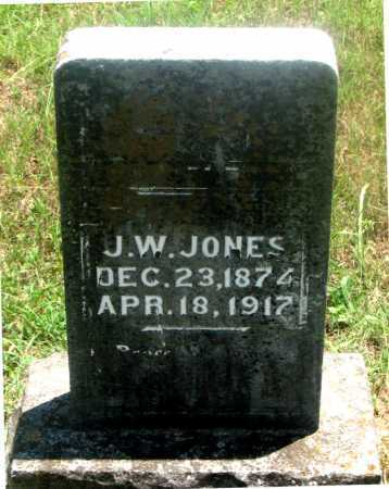 JONES, JERRY W. - Carroll County, Arkansas | JERRY W. JONES - Arkansas Gravestone Photos