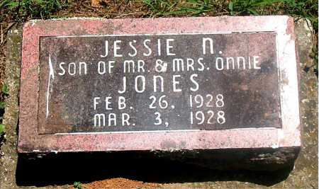 JONES, JESSIE N. - Carroll County, Arkansas | JESSIE N. JONES - Arkansas Gravestone Photos