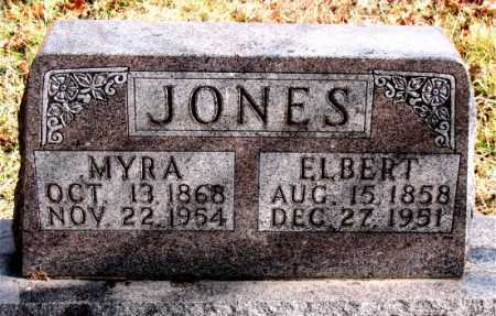 JONES, ELBERT - Carroll County, Arkansas | ELBERT JONES - Arkansas Gravestone Photos