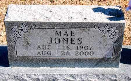 JONES, MAE - Carroll County, Arkansas | MAE JONES - Arkansas Gravestone Photos