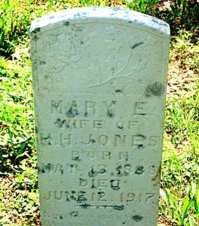 HALE JONES, MARY E. - Carroll County, Arkansas | MARY E. HALE JONES - Arkansas Gravestone Photos