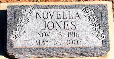 JONES, NOVELLA - Carroll County, Arkansas | NOVELLA JONES - Arkansas Gravestone Photos