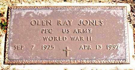 JONES (VETERAN WWII), OLEN RAY - Carroll County, Arkansas | OLEN RAY JONES (VETERAN WWII) - Arkansas Gravestone Photos