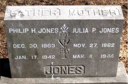 JONES, PHILIP H. - Carroll County, Arkansas | PHILIP H. JONES - Arkansas Gravestone Photos