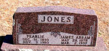 JONES, PEARLIE - Carroll County, Arkansas | PEARLIE JONES - Arkansas Gravestone Photos