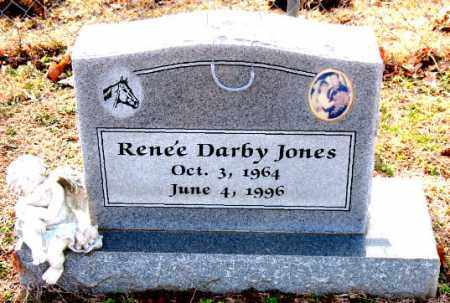 JONES, RENEE DARBY - Carroll County, Arkansas | RENEE DARBY JONES - Arkansas Gravestone Photos