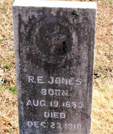 JONES, R.  E. - Carroll County, Arkansas | R.  E. JONES - Arkansas Gravestone Photos